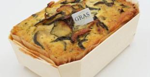 Gratin et légumes cuisinés