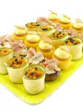 Mini-légumes farcis 54 pces